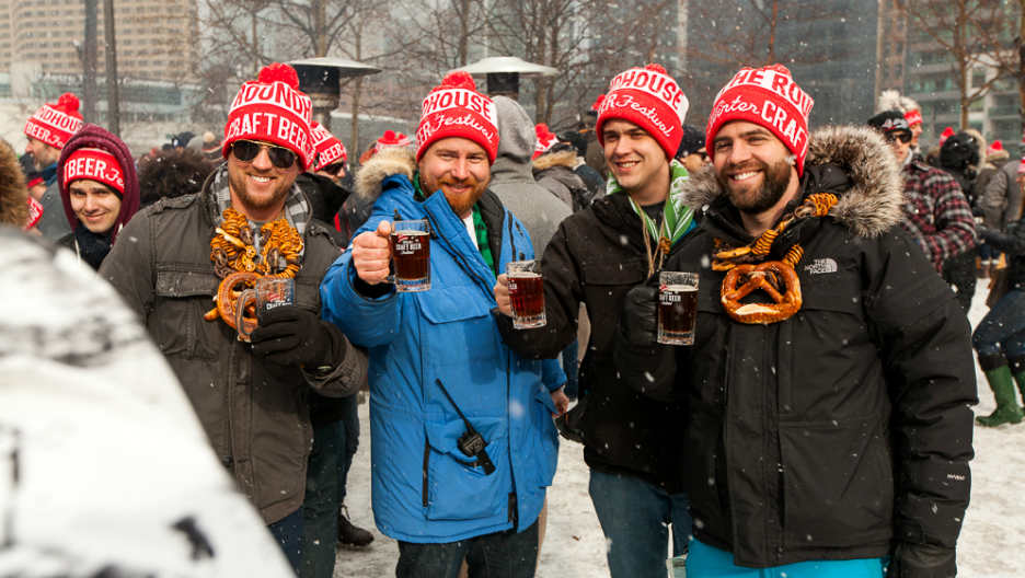 The Roundhouse Craft Beer Festival takes play every January